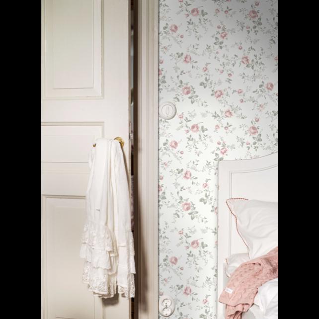 Rose Garden White wallpaper