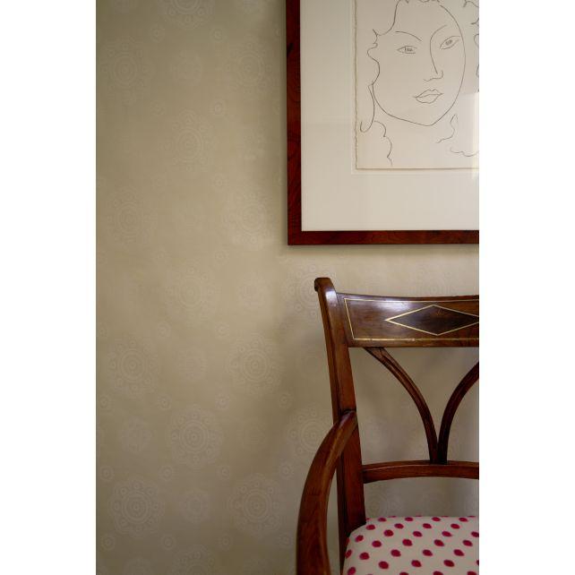 wallpaper,Room,Seven,floral,shape,beige