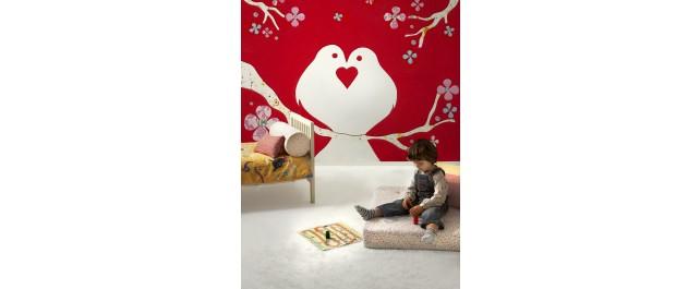 Doves Mural