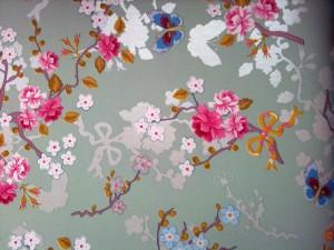 Mint Butterfly Wallpaper