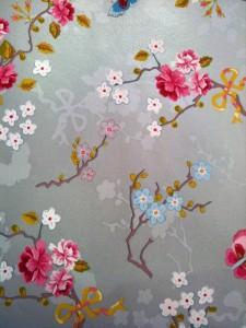 Silver Butterfly Wallpaper