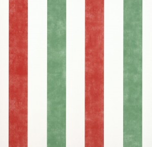 Strawberry Stripes Wallpaper