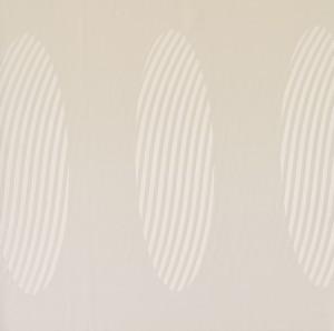 Oval beige wallpaper