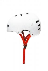 Mural white helmet
