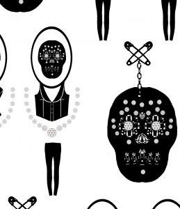 Skull & Crossbow Mural