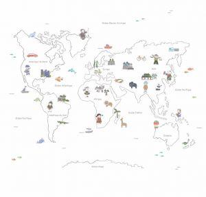 Bon Voyage Kids Mural