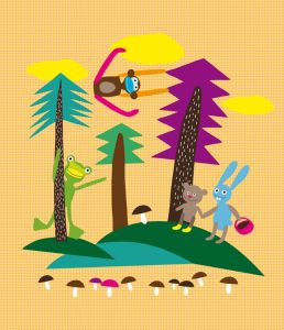 Forest Play Mural