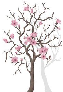 Magnolia Tree Mural