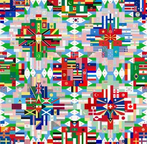 Flags Mural