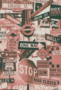 Street Signs Red