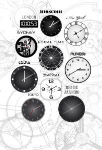 Clock Mural 1