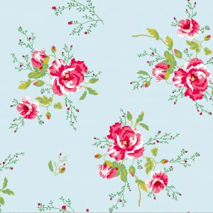 wallpaper,poppies,blue
