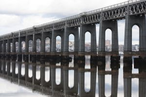 Tay Bridge Mural