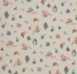 wallpaper,Room,Seven,mix,flowers,beige