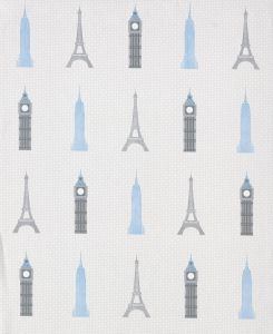 Monuments Wallpaper Silver