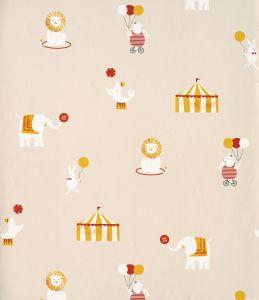 Circus Beige Wallpaper
