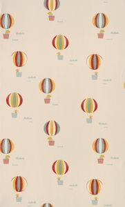 Beige Balloons Wallpaper