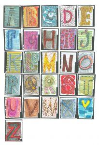 Alphabet Kids Mural