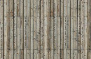 Wood Effect Mural
