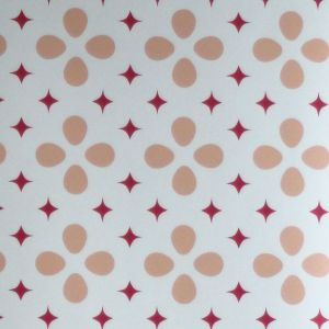 wallpaper,Catalina,Estrada,star,red,oval,salmon