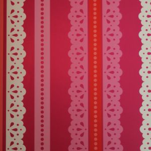 wallpaper,Catalina,Estrada,fucsia,rose,red,lace,white