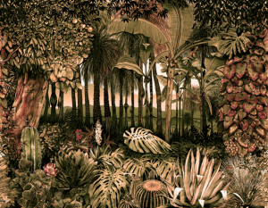 Mural Botánico Autumn by José Manuel Hortelano-Pi