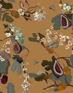 Fruits Terracota wallpaper by Joselu Montojo