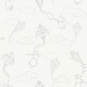 Up&Away White wallpaper