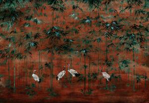 Mural Garzas Goji