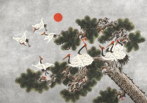 Mural Ukiyo Chia Seed