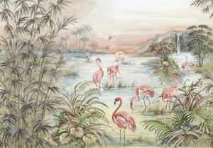 Mural Roseus Maca