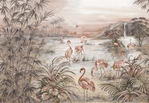 Mural Roseus Rose