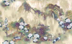 Mural Kasgar Grape