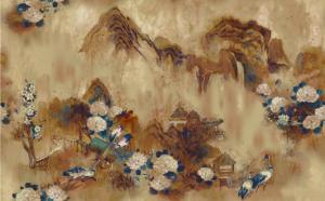 Mural Kasgar Blue Spirulina