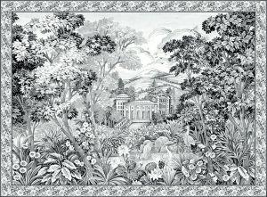 Mural Tapestry Off