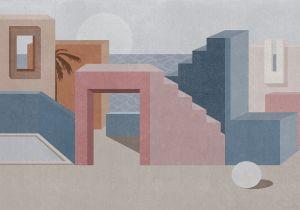 Mural La Muralla Pink