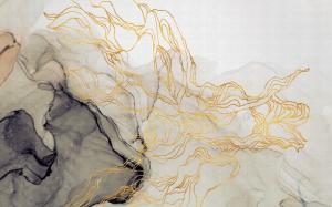 Mural Aurora Borealis Sand
