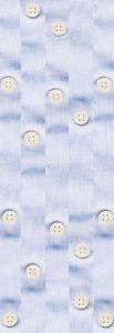 Blue buttons mural