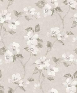 Helen´s Flower Grey wallpaper