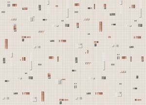 Pixels Bronze wallpaper