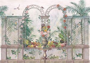 Mural Treillage Vintage
