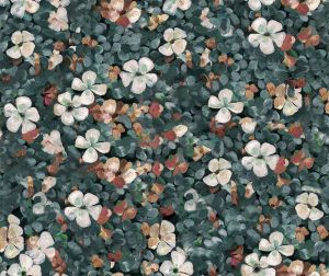 Floral Tapestry Sea wallpaper