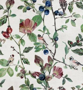 Goldfinch Song Cotton wallpaper