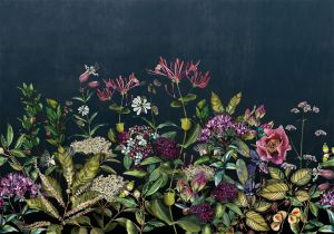 Mural Wild Floral Day