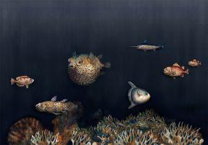 Mural Deep Ocean Mediterranean