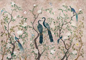 Mural Edo Rose