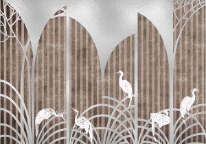 Mural Tassel Silver