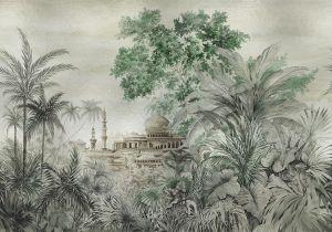 Mural Taj Majal Silver
