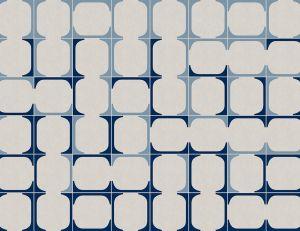 Mural Blaua Blue