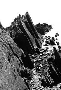 Mural cliff top